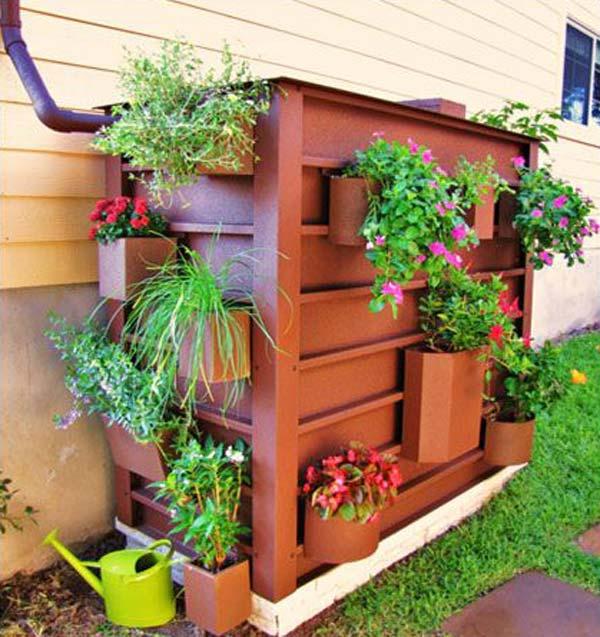 downspout planter box